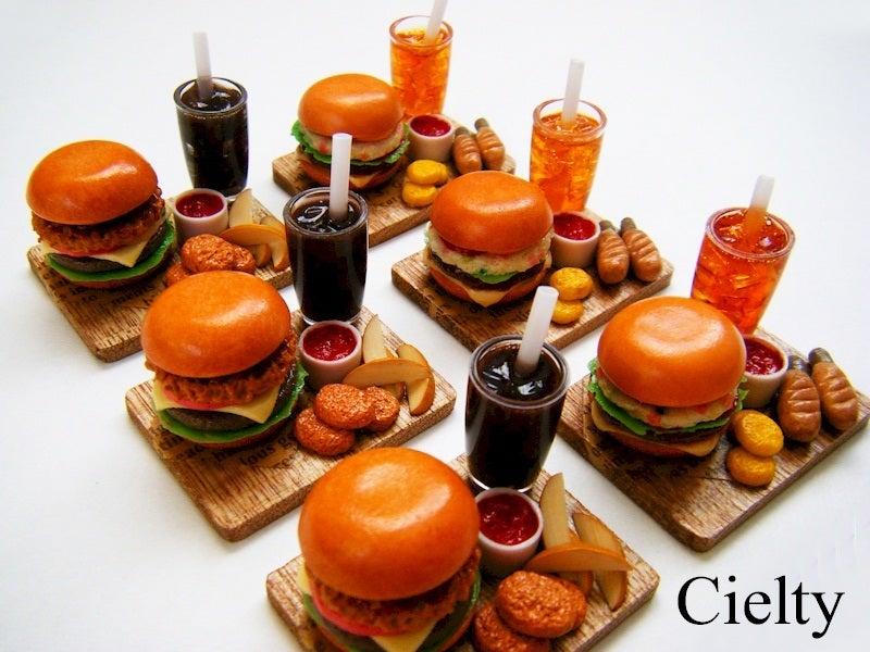 ミニチュアフード*食品サンプル・ハンバーガー