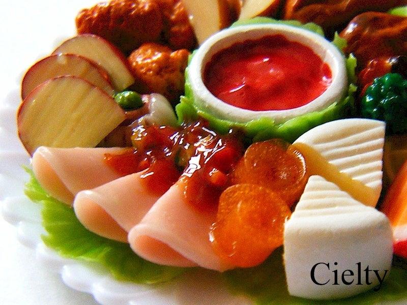 ミニチュアフード*ハム チーズ