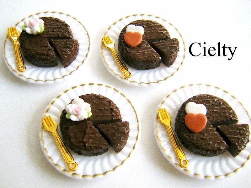 ミニチュアフード*チョコレートケーキ