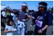 地元CATVにインタビューを受けるちゃぐ@2008