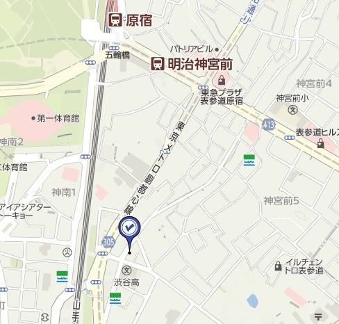 めぐみハイマンション,地図