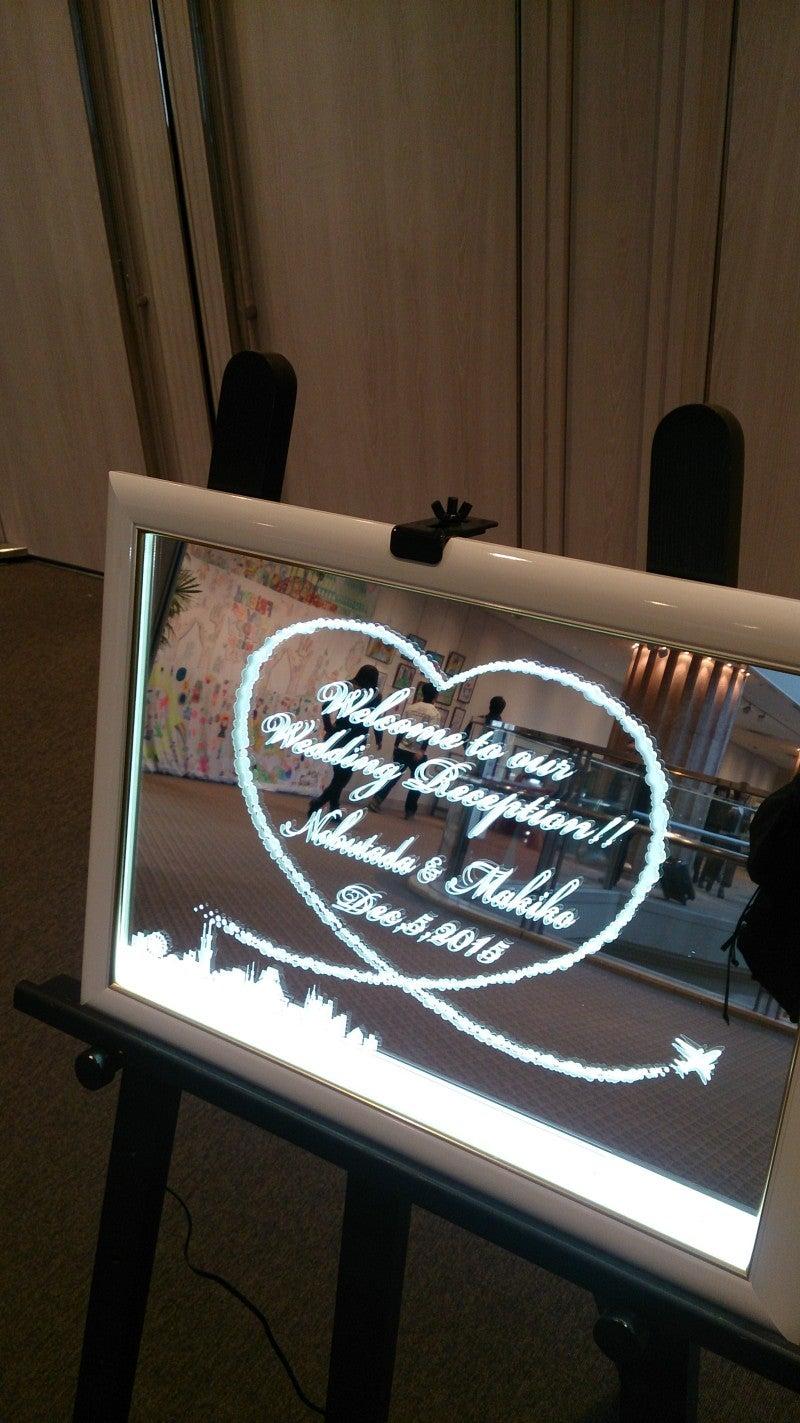 ウェルカムボード LED 結婚