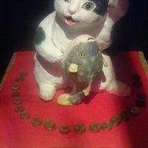 招き猫美術館に行って…