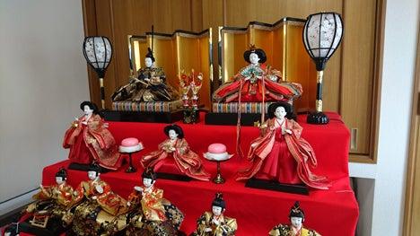 16回目の雛人形の飾り付け1