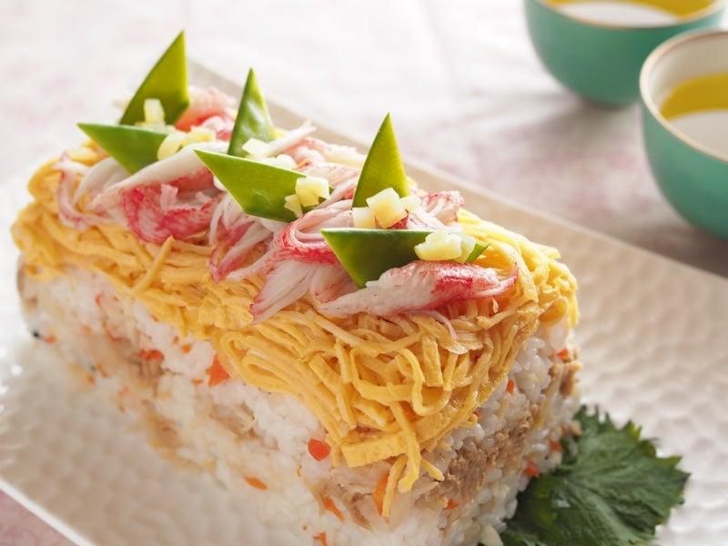 ケーキ寿司 ひな祭り 春 作り置き