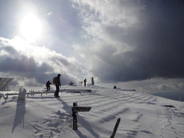 雪深い冬の丹沢(塔ノ岳・丹沢山)