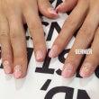 ♡パールピンクのフレ…