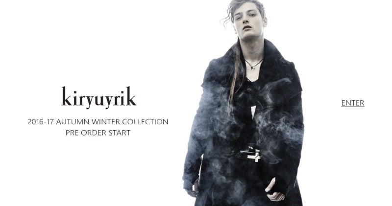 kiryuyrik|キリュウキリュウ 通販 高崎 群馬