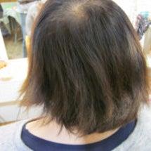 乾いた髪には。。。