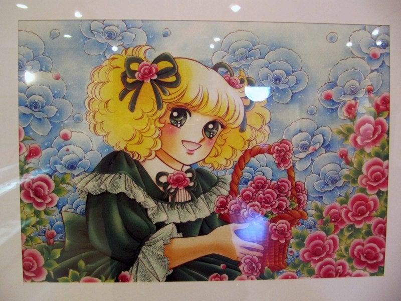 建物内では堀江美都子さんが歌ったキャンディ・キャンディなどが流れており、さらなる夢の空間へと連れて行ってくれます。