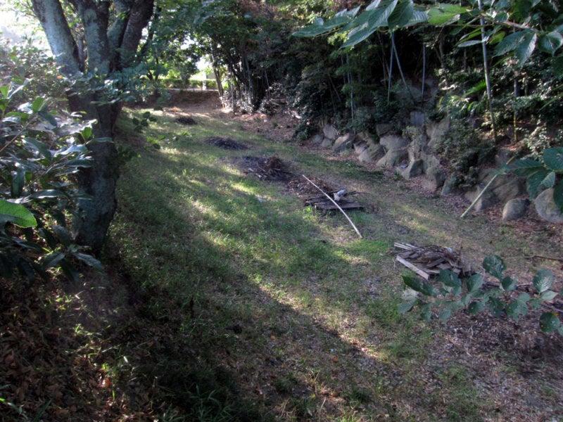 山崎城⑤堀跡