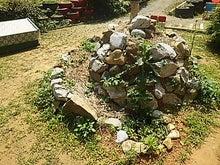 スパイラル菜園