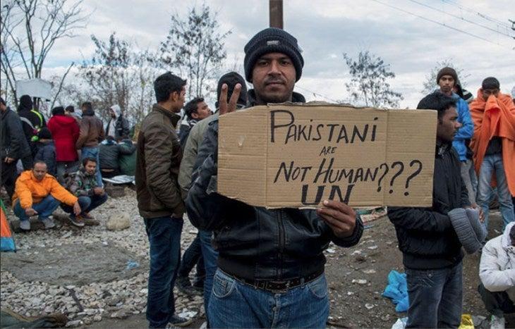 パキスタン人越境拒否