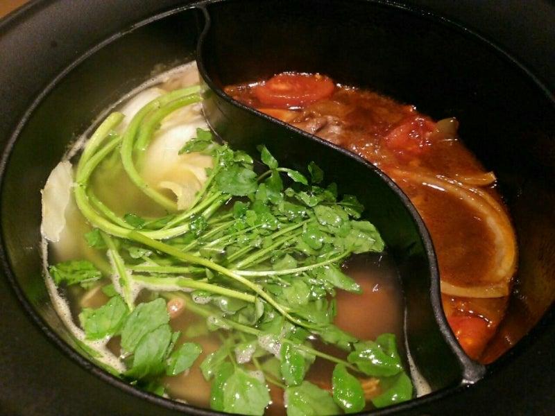 しゃぶしゃぶ温野菜の春限定鍋は「梅だしクレソン鍋」と「トマト黒毛和牛すき焼き」♡