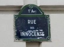 rue des innocents