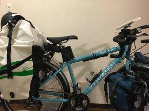 日本一周用の自転車GMT