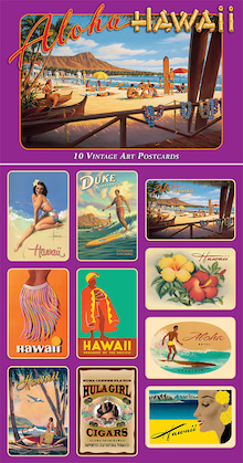 ハワイアンティークポストカード