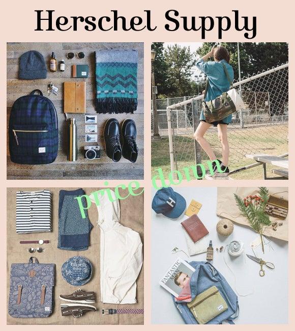 HerschelSupply/ハーシェルサプライ 全品大幅プライスダウン!セール
