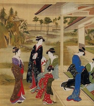 勝川春章と肉筆美人画 – 黒川孝雄の美