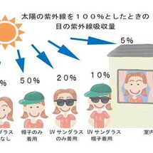 目と紫外線
