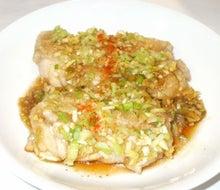 10鶏ネギ生姜ソース