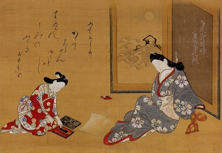 『勝川春章と肉筆美人画―<みやび>の女性像 …