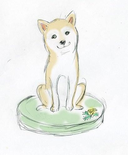 長谷部さんラフ画