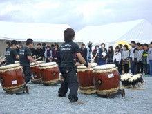 浜太郎・太鼓演奏見学する