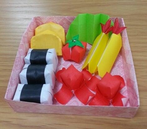 ハート 折り紙:折り紙 お弁当-ameblo.jp