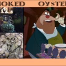 The 牡蠣の燻製 …