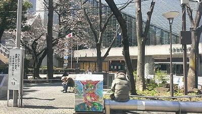 【3分咲き】池袋西口公園の桜