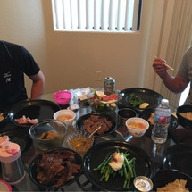 前田家の食卓に。