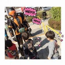 握手♪(*^^)o∀…