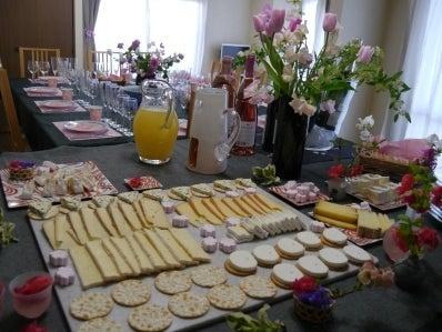 お花見チーズパーティー