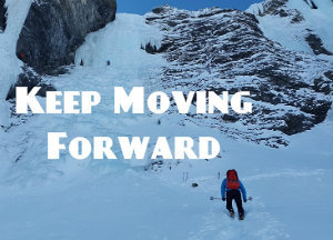 keep moving forward 英語