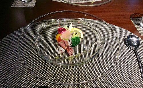 銀波荘夕食3