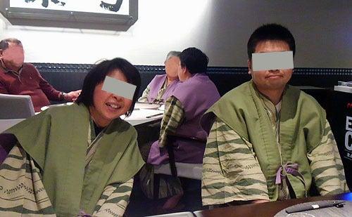 銀波荘、妻と長男