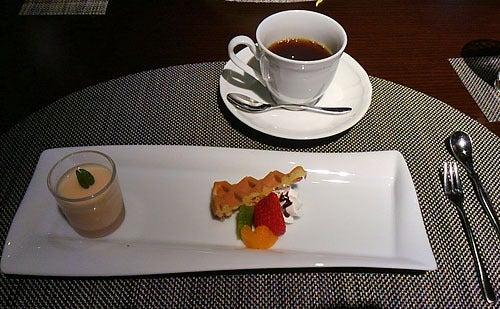 銀波荘夕食9