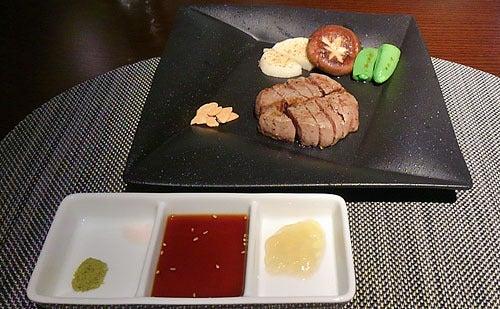 銀波荘夕食7