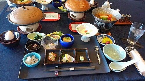 銀波荘朝食