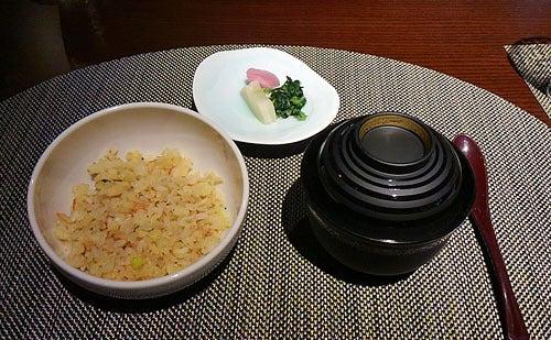 銀波荘夕食8