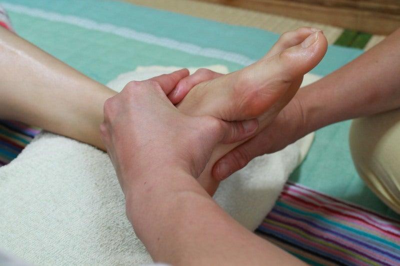 足のリフレ