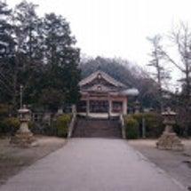 久々の勝田神社