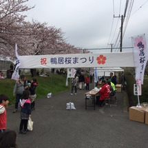 鴨居桜まつり当日