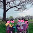 みさと公園でお花見B…