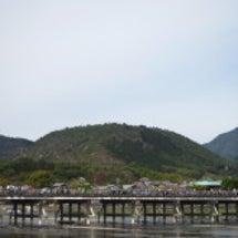 2016嵐山渡月橋☆