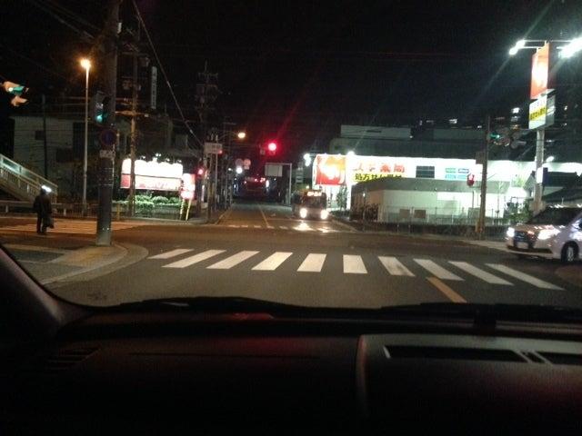 国道171号で練習中 北大阪ペーパードライバー