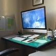 パソコンと机の角度