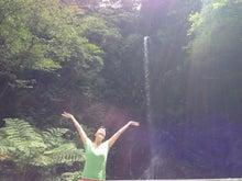 加計呂間島の 滝