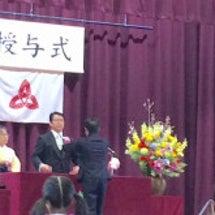 息子の小学校卒業式